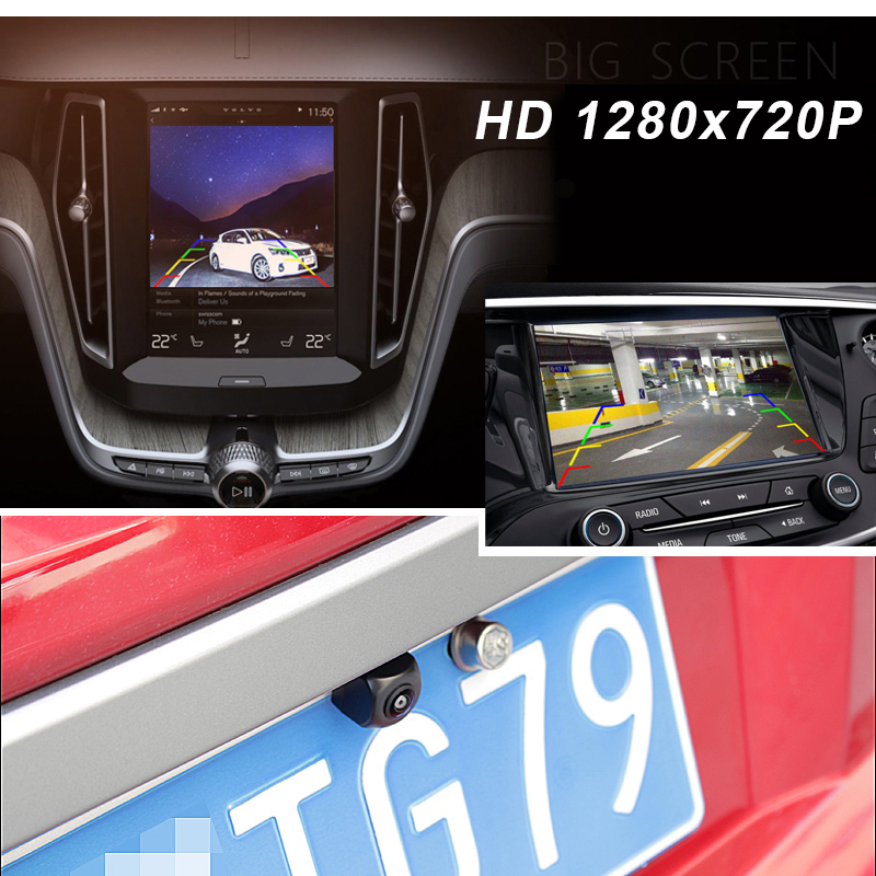 GREEN Yi Waterproof Car Rear and Front View Camera with Fisheye Lens and Night Vision 3