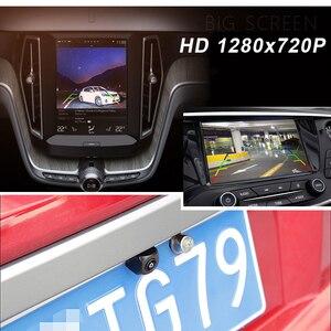 Image 4 - GreenYi cámara de visión frontal y lateral trasera para vehículo, CCD, Ojos de pez, visión nocturna, impermeable, IP68, cámara trasera Universal