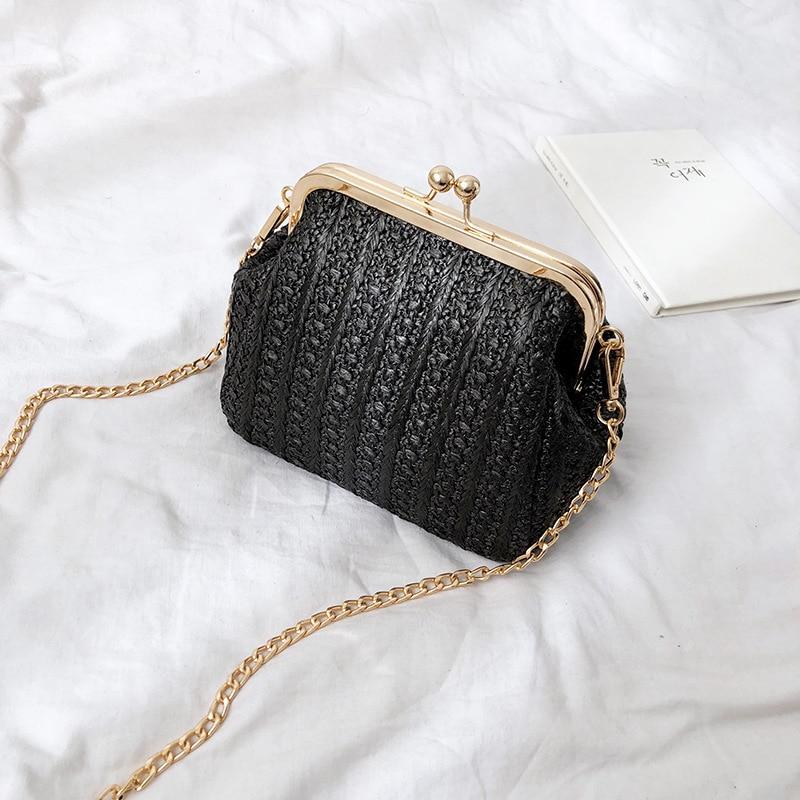 Korean Summer Wild Embroidery Phone Crossbody Purse Mini Shoulder Messenger Bag