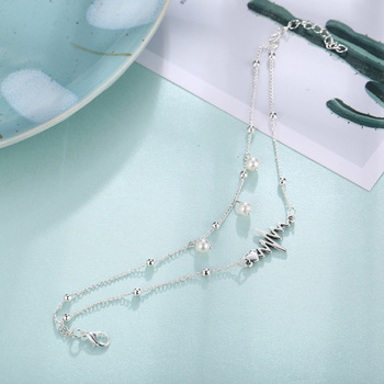 Miss JQ New Arrival Silver Color Anklet For Women Fashion Bohemian Beach Jewelry 3