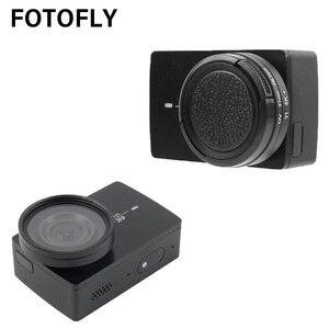 Image 2 - FOTOFLY مرشح كاميرا الحركة ، لـ Yi 4K Lite UV CPL ND 2 4 8 ، عدسات واقية لـ Xiao Yi 4K Plus ، ملحقات الكاميرا الرياضية
