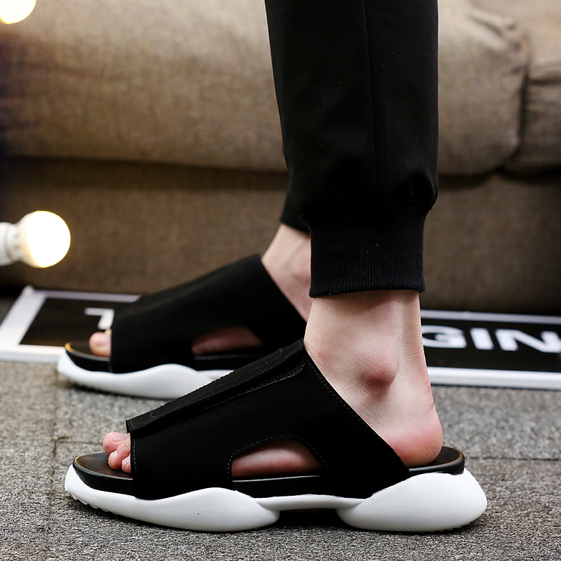 Men Slip On  Gladiator Slippers Men Designers Comfortable Beach Sandals Male Super Cool Mule Shoe Men Sandalss