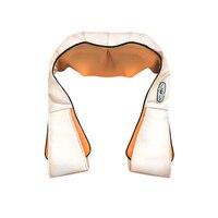 Electric Neck Back Massager Shiatsu Kneading Massage Pillow Infrared Heating Roller Massager Shoulder Body Relaxation Pillow