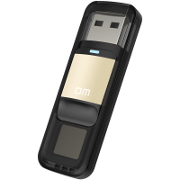DM PD061 64GB 32GB High Speed Recognition Fingerprint Encrypted High Tech Pen Drive Security Memory USB