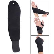 1Pcs Adjustable Weight Lifting Sports Wristband Gym Wrist Thumb Support Straps Wraps Bandage font b Fitness