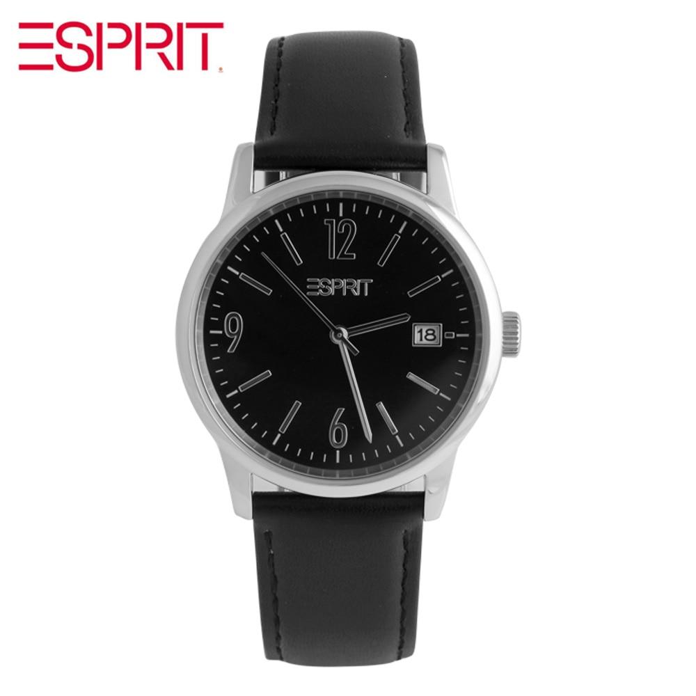 ESPRIT neutral fashion calendar quartz men s Watch ES100S61004