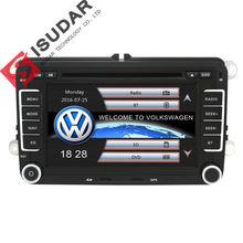 Al por mayor! 2 Din 7 Pulgadas de Coches Reproductor de DVD Para VW/Volkswagen Passat/POLO/GOLF/Skoda/Seat Leon Con Mapas Navigaiton GPS IPOD RDS FM