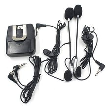 Portable Motorcycle Handfree Helmet Walkie Talkie with Ear Headset for Motorcycle Intercom Interphone Free Shipping