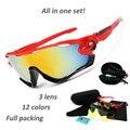 3 Объектив 12 Цвета JBR Поляризованные Солнечные Очки Женщин Людей Бренд мода JAWTR90 Спорта На Открытом Воздухе Óculos Gafas De Sol Очки Солнцезащитные очки
