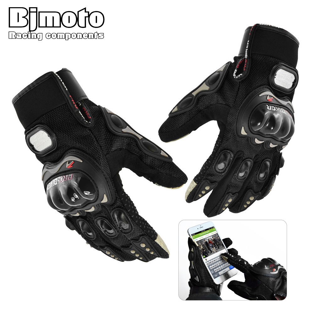 <font><b>PRO</b></font> <font><b>BIKER</b></font> <font><b>Motorcycle</b></font> <font><b>Gloves</b></font> Breathable All Season <font><b>Glove</b></font> <font><b>Touch</b></font> Screen Perforate Men Racing Motorbike Motocicleta Guantes Luvas
