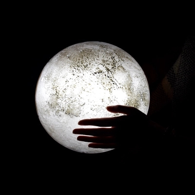 Remote Control Moon Light Decorative Hanging Lamps Wall