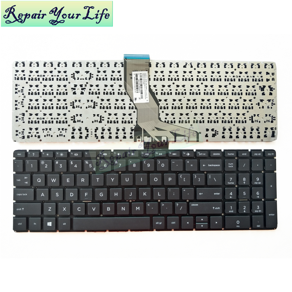 Repair You Life laptop <font><b>keyboard</b></font> for <font><b>HP</b></font> Pavilion 15-BS535TU 15-BS <font><b>250</b></font> <font><b>G6</b></font> 15-BS780CL 15-bs047ng <font><b>Keyboard</b></font> US standard new image
