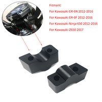 Motorcycle Modified Handlebar Handle bar Risers Height up Adapters 30MM for Kawasaki ER 6N ER 6N ER 6F Ninja 650 12 16 Z650 17