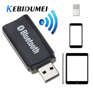 kebidumei USB Wireless Bluetooth Music Stereo Receiver Adapter AMP Dongle Audio 3.5mm For Windows 2000/xp/visat Win7 Win8 Linux