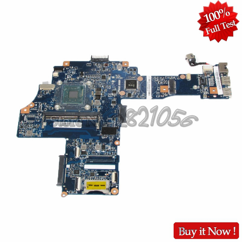 NOKOTION H000073980 PC Main Board For Toshiba Satellite C40-B CA10BM Laptop Motherboard N2840 CPU DDR3 nokotion genuine h000064160 main board for toshiba satellite nb15 nb15t laptop motherboard n2810 cpu ddr3