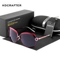 HDCRAFER Women Sunglasses Star Subsection Retro Fashion Sunglasses Women Trend Polarized Sunglasses Mirror Sun Glasses E016