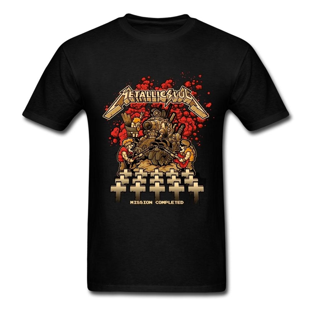 Shirt design companies - Tee Shirt Order Metallic Slug Men S T Shirt Design Company Short Sleeve Father S Day Plus Size