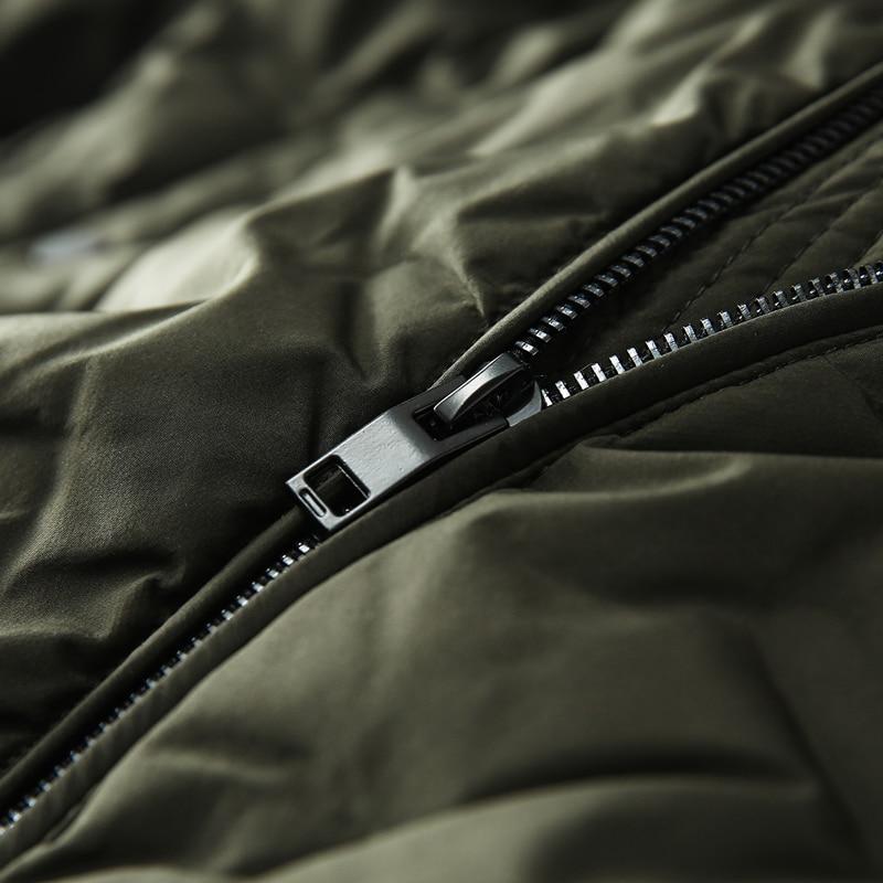 Chaqueta Hombre Mode Mince De Courtes Green Collier Ondes Baseball La Invierno Épaissir Black Xd299 Jeunesse Hommes Coton Veste army xpqRH77YO