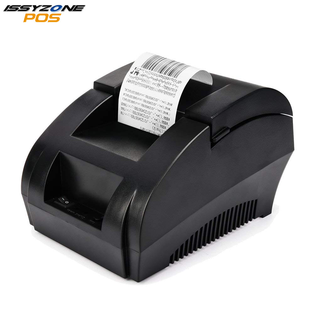 I58TP04 Cheap 2 inch 58mm thermal printer thermal receipt printer pos printer 90mm/s USB ESC/POS Compatible Windows and Linux new hot thermal printer 5890t supermarket takeaway intelligent bluetooth food and beverage printer 90mm s 57 5 0 5mm 220v