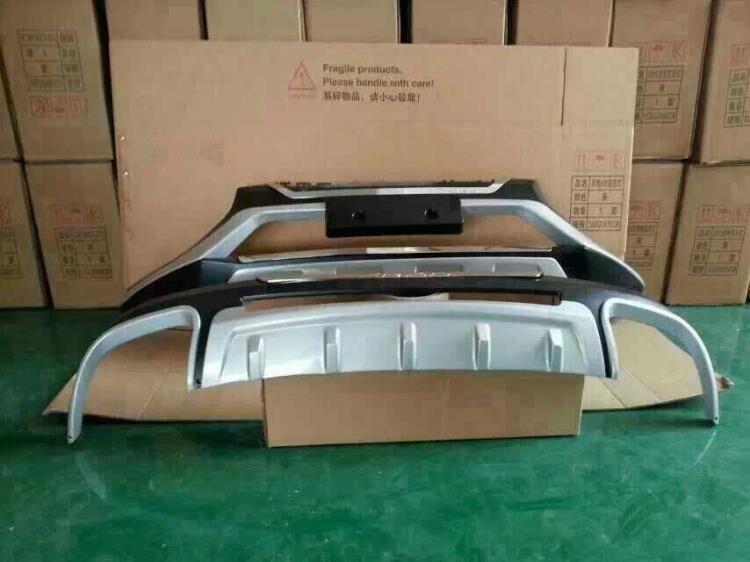 Автомобильный дизайн ABS спереди + сзади Бамперы для автомобиля Интимные аксессуары бампер автомобиля протектор гвардии защитные пластины д...