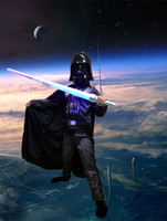 Darth Vader Anakin Skywalker Star Wars Costume Suit Kids Movie Costume For Halloween Party Cosplay Children