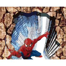 3D Супермен звезда Краски ing по количеству Новое поступление Краски фото по номерам комплекты раскраски неповторимый подарок номер Декор домашний офис декор