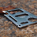 11 in 1 Multi-Functional Stainless Steel Credit Card Survival Outdoor Pocket Camping Tool Card Beer Bottle Opener