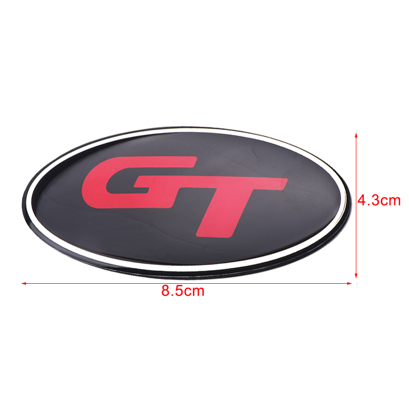Image 2 - 8.5x4.3cm 3D sticker Car Front Rear Steering Wheel Badge Emblem For KIA OPTIMA K2/K3/K4/K5 Venga Car Accessories-in Car Stickers from Automobiles & Motorcycles