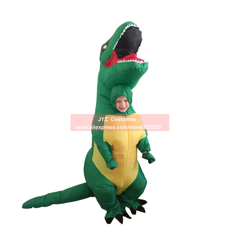 Online Shop Adult T-REX Inflatable Costume Christmas Cosplay ...