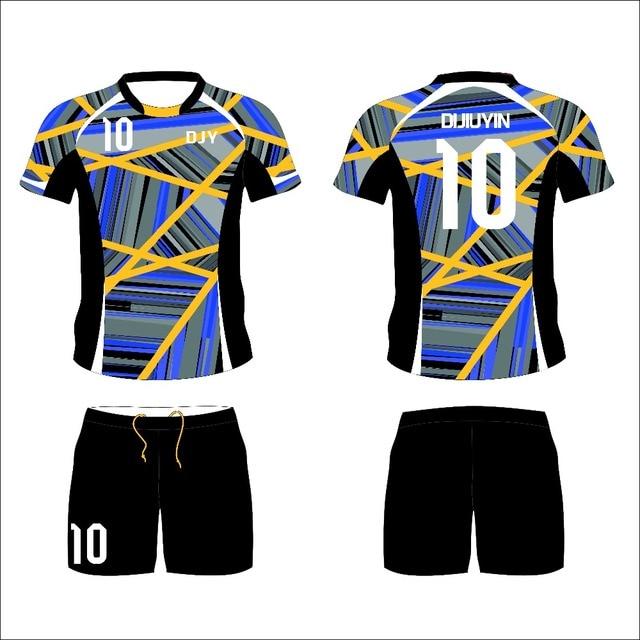 Custom Soccer Jerseys 2017 2018 Football Jerseys Uniform Football Shirt  Training Set Design Draft ca1b225e5