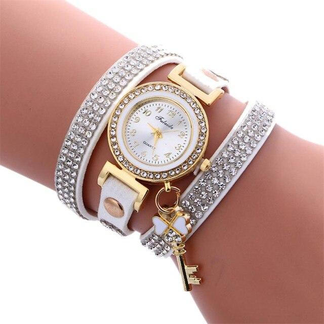 Luxus Frauen Uhren Diamanten Vorhangeschlosser Armband Uhren Damen