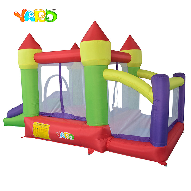 YARD Kids Best Gift Bouncy Castle Outdoor Moonwalk Ball Pit Inflatable Slide Combo Inflatable Castle for Kids Games yard residential inflatable bounce house combo slide bouncy with ball pool for kids amusement