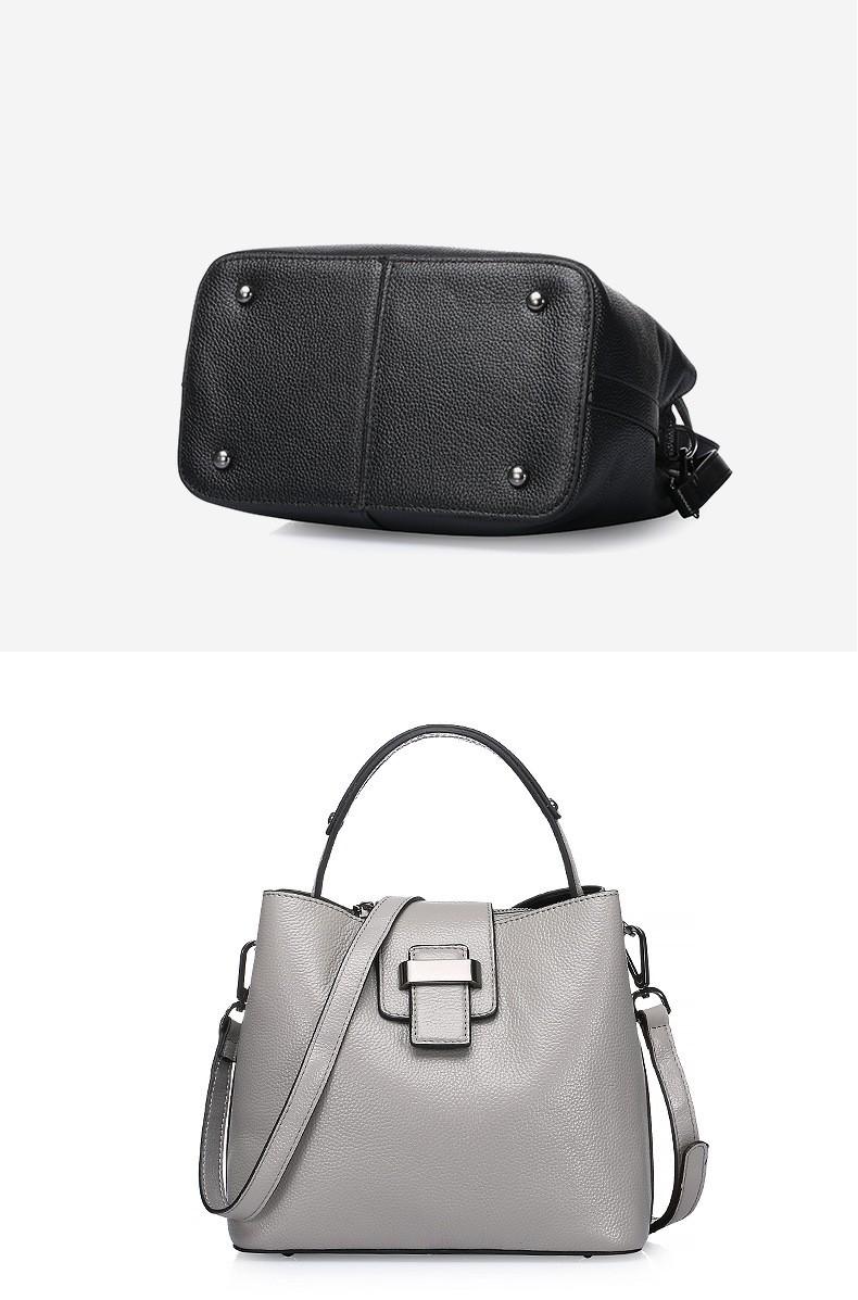 women genuine leather handbag 18