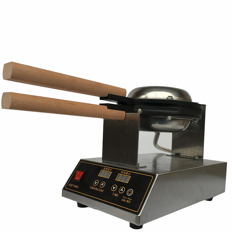 220 V/110 V Bolha máquina de Waffle Elétrica Digital Chinês Hong Kong Eggettes Puff ferro Waffle Máquina do Fabricante De Bolha forno Bolo De ovos