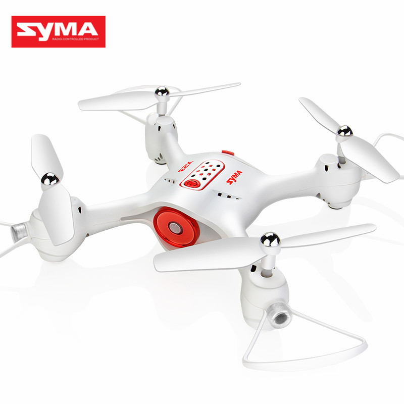 SYMA X23W WIFI FPV With 720P HD Camera Altitude Hold Headless Mode Waypoint Control APP Control RC FPV Racing Drone Quadcopter syma x15w drone with 0 3mp camera wifi fpv rc quadcopter g sensor barometer set height headless mode 3d flips app control drone
