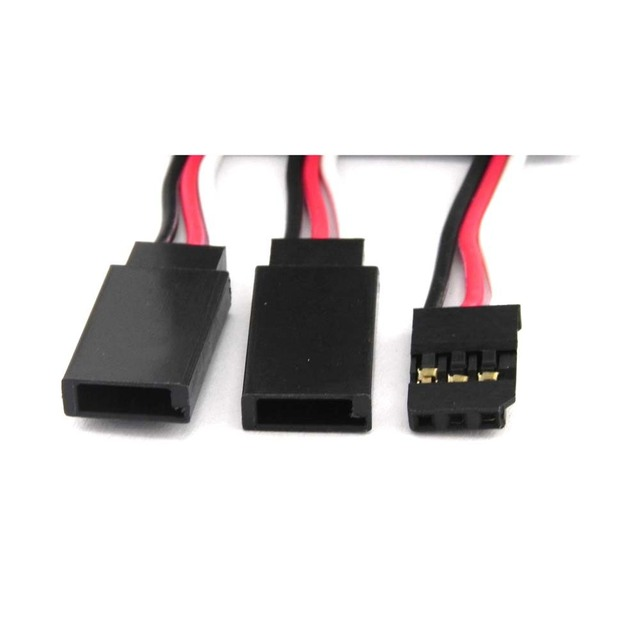 5 pcs 300mm RC Servo Y Extension Cord Cable Lead Wire for JR Futaba