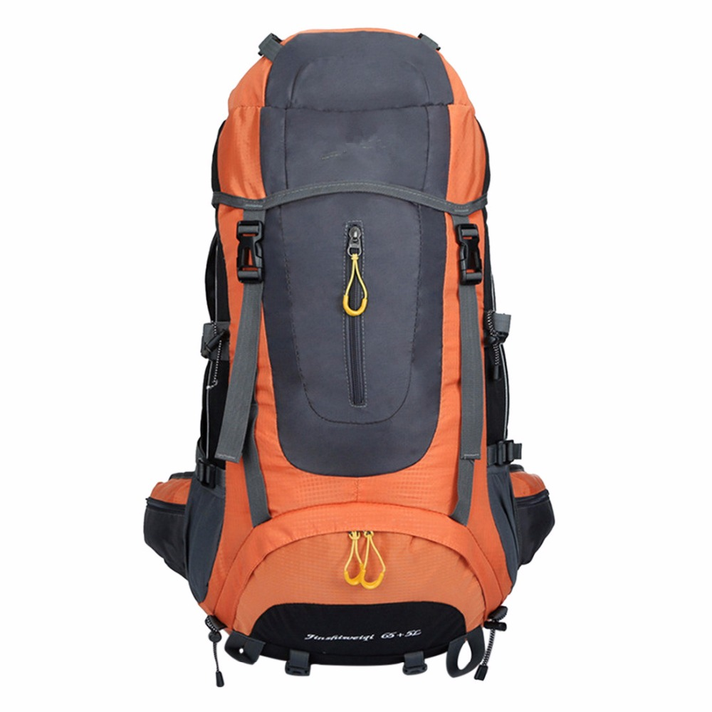 Orange Tactical Waterproof Unisex Backpack
