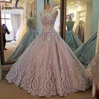 LS00017 robe de soirée dentelle perles robe de bal longue fête robe formelle organza robe de soirée abendkleider 2017 vraies photos