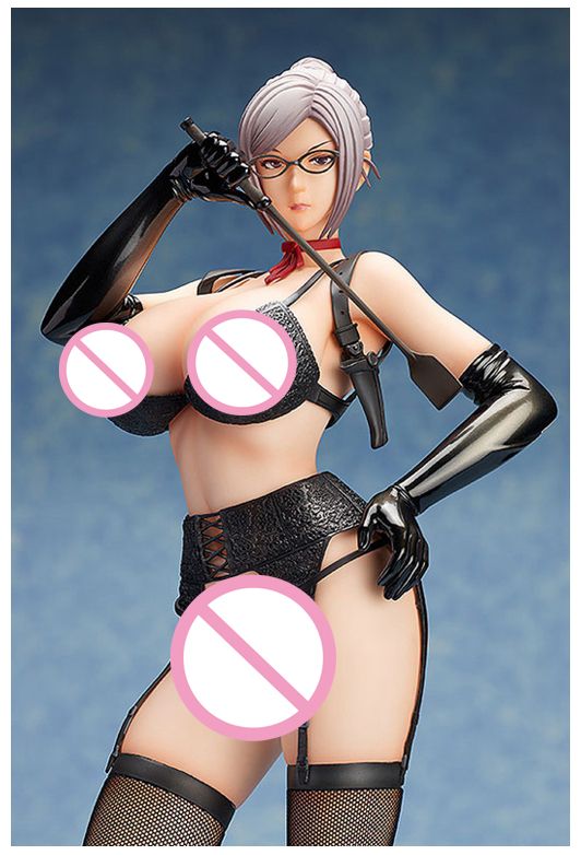 Vogue WING Freeing <font><b>Sexy</b></font> Meiko Shiraki Stockings from Anime Prison School <font><b>1/4</b></font> Scale Figurine Figure 16 inch Huge image