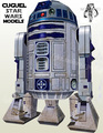 Paper Model Star Wars Skywalker Robot R2-D2 96CM High DIY Assembled Handmade Toy