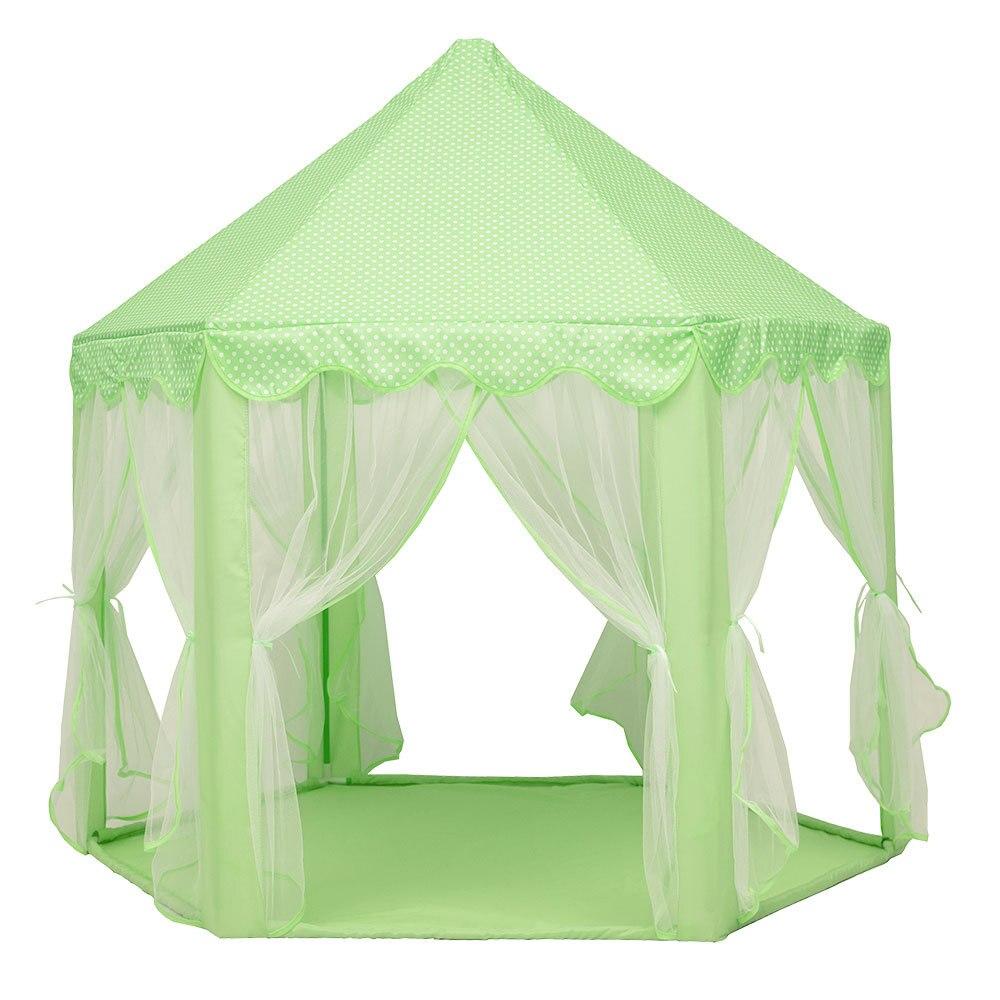 Tente de jeu balle pour bébé tente de piscine pour Enfant Rose Bleu Vert tente d'enfants maison de jeu Ramper Princesse Château D'anniversaire cadeau de noël
