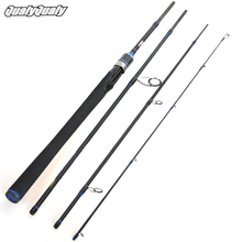 Carbon Fishing Rod Olta EVA Handle High Strength Ceramic Guides Ring Fishing Gear 2.1m 2.4m 2.7m 4 Section Travel Fishing Rods