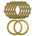 A Set Friction Plates Paper based Plate Motorcycle Parts Clutch Plates Friction Discs For YAMAHA T-MAX 500 Tmax500 T max500
