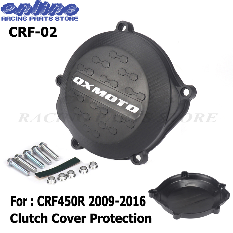 NEW Motorcycle Clutch Cover Protection Cover Fit For <font><b>CRF450R</b></font> CRF 450R 450 2009 2010 2012 2011 2013 2014 2015 <font><b>2016</b></font> Free shipping image