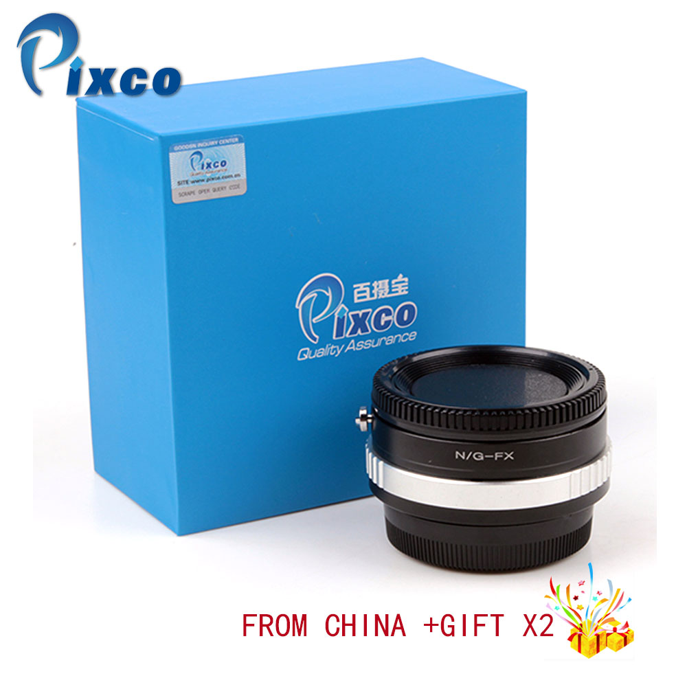 Pixco Speed Booster Focal Reducer Lens Adapter Suit For Nikon G Lens to Suit for Fujifilm X Camera for Dropshipping цена и фото