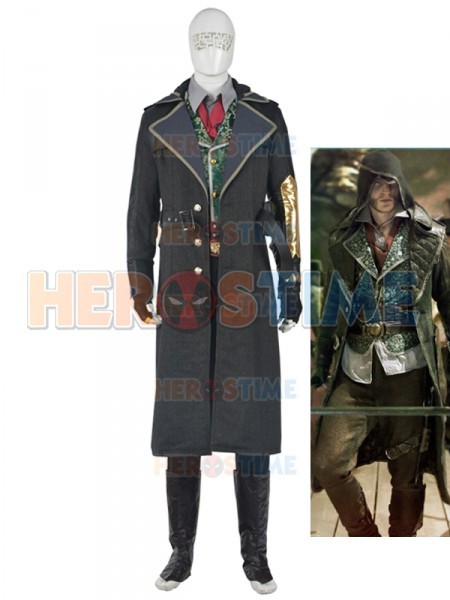 assassins creed syndicate mens deluxe cosplay costume halloween costume