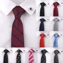 купить Fashion Solid Neck Tie for Man 1200 Pin High Density Luxury Tie Solid Color Polyester Plain Slim Tie Wedding Bridegroom Gifts онлайн