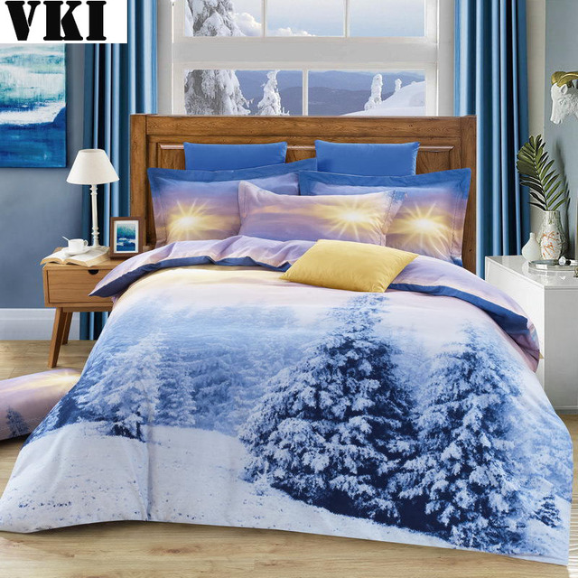 High Quality Discount Bedding Snow Cotton Luxury Quilt Covers Bed Linen  Bedding Sheet Duvet Covers For