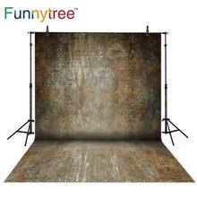 خلفيات Funnytree للتصوير الفوتوغرافي استوديو صدئ الملمس جدار خمر خلفية المهنية كشك صور مكالمة مطبوعة