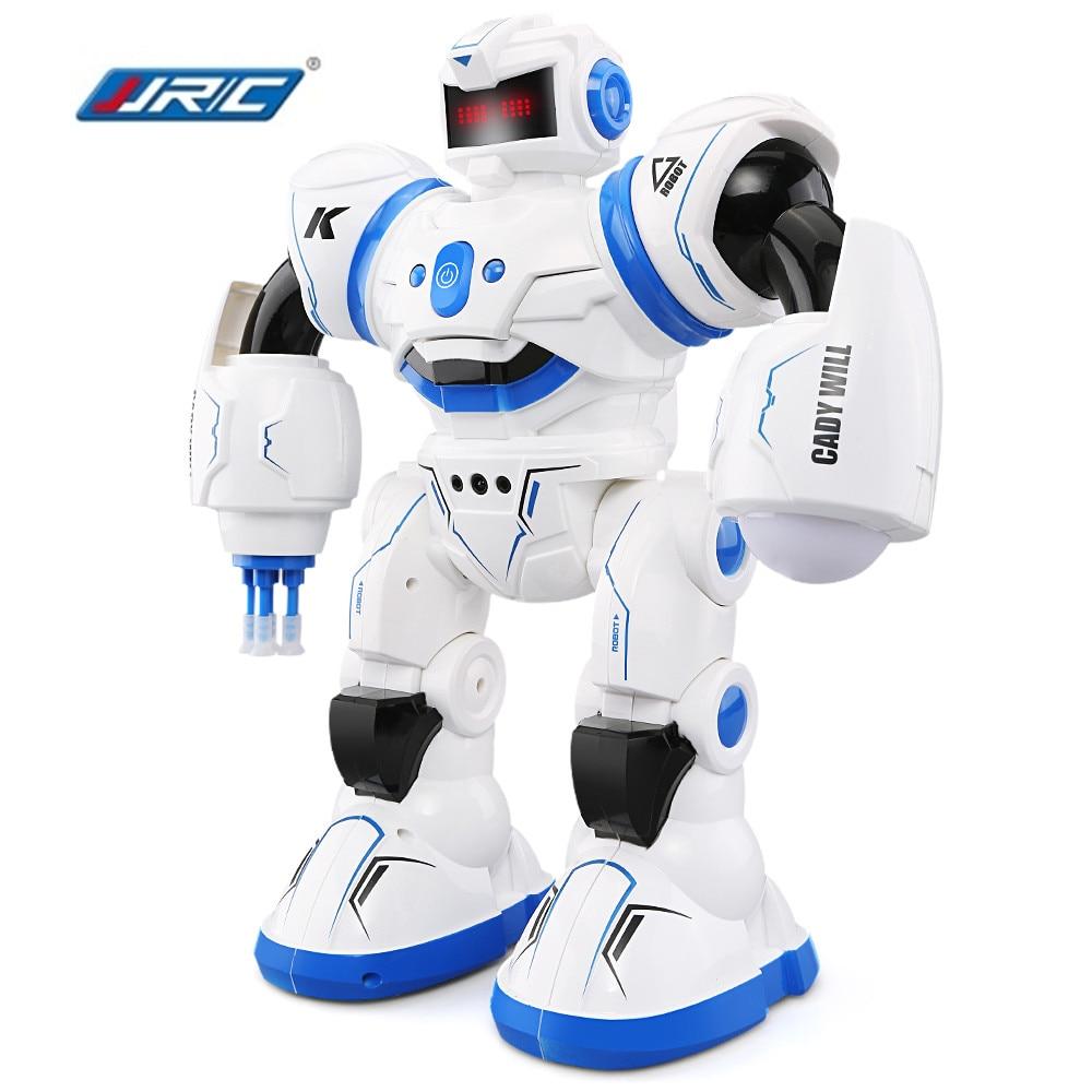 JJR/C JJRC R3 CADY WILL Sensor Control Intelligent Combat Dancing Gesture RC Robot Toys for Kids Christmas Gift Present VS R1 R2 2 4ghz multi mode control robot intelligent gesture sensor dancing singing laser